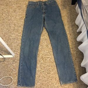 Vintage relaxed fit levi's 32W 34L